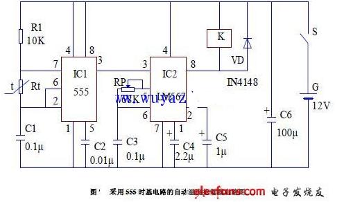 555电子温控器电路图大全(八款模拟电路设计原理图详解)