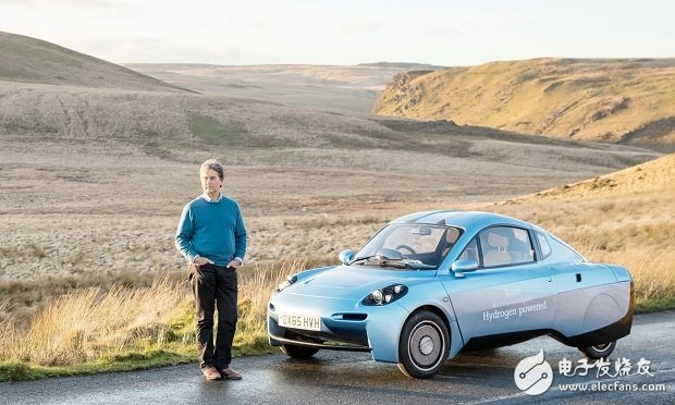 Spowers经营着世界上唯一独立的氢燃料电池汽车公司