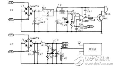 基于ICL7107的锂电池保护板漏电流测试仪