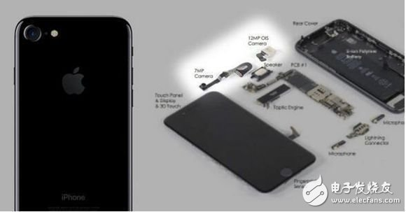 iPhone7拆解图:这些零件都来自于哪些厂商呢