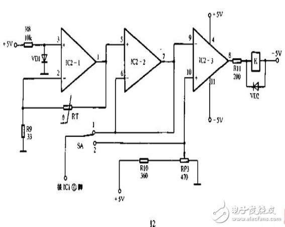 数码管显示温控电路图大全(六款模拟电路设计原理图详解)