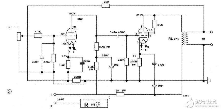 电子管6p15应用电路图(四款模拟电路设计原理图详解)