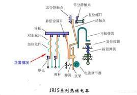 热继电器的接线方式_热继电器接线图详解