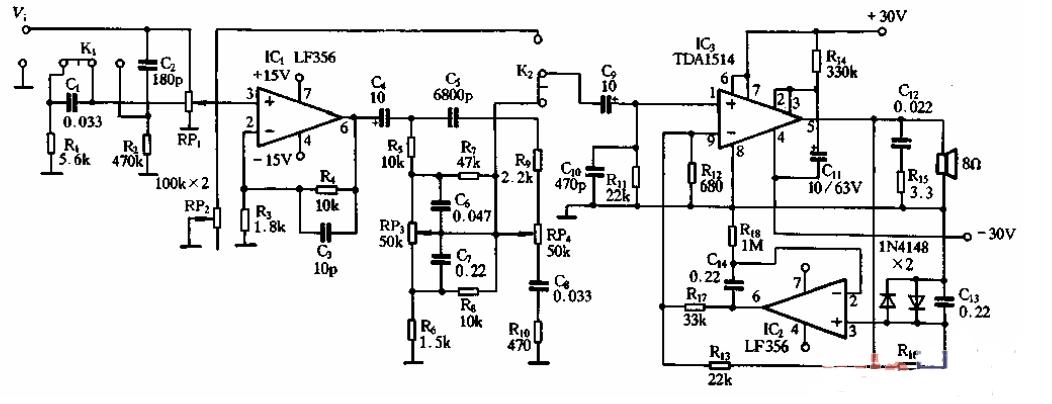 lf356调零电路(六款调零电路原理图详解)