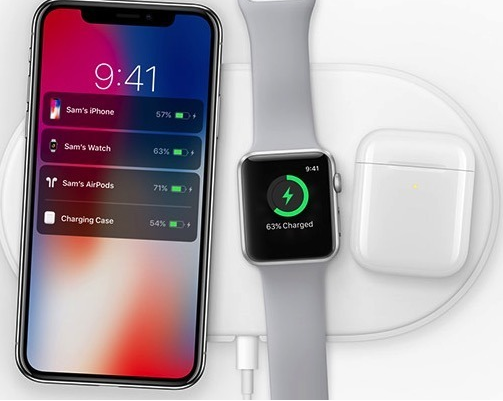 苹果AirPower 无线充电板和充电盒将有可能3月起出货