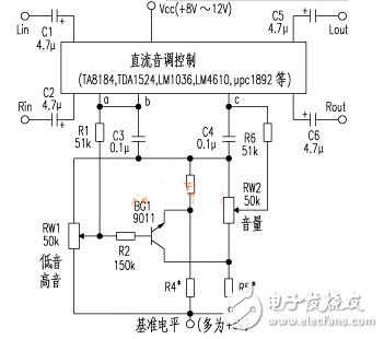 电子管音调电路图大全(六款电子管音调电路原理图详解)