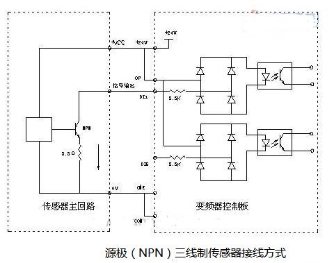 三线制负压传感器接线