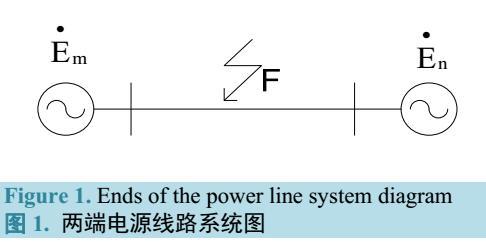 电流相位差动保护的仿真