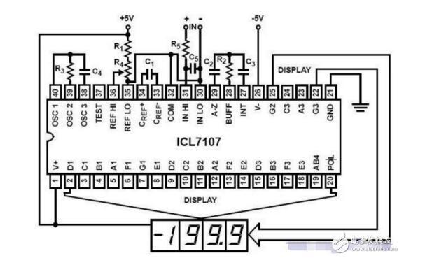 ICL7107ADC在智能仪器中的应用