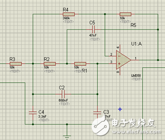 LM358运放方波转换为正弦波电路图分享