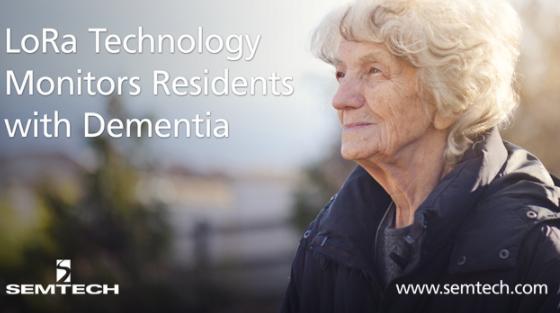 Semtech的LoRa技术帮助实现痴呆症患者的定位与主动监控