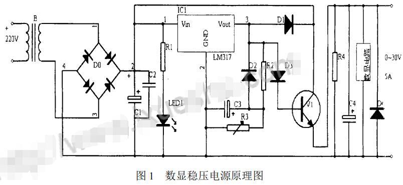 CL7107在数显稳压电源中的应用