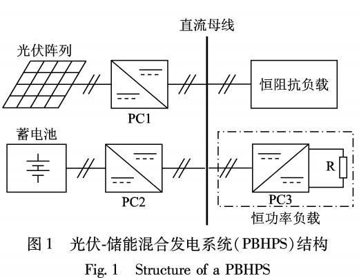 光伏-储能混合发电系统非线性行为分析