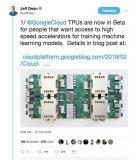 谷歌宣布全面开放TPU  正式向英伟达开炮