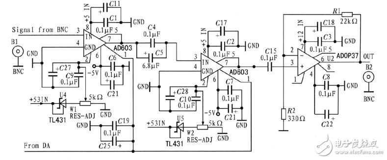 可变增益放大器电路图(十一款可变增益放大器电路设计原理图详解)
