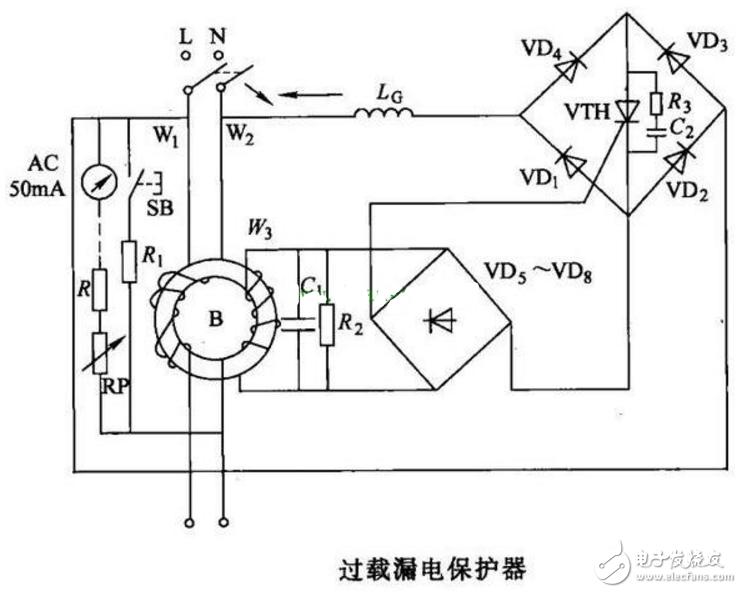 过载保护电路图大全(六款过载保护电路设计原理图详解)