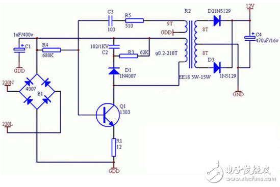 220v电源滤波器电路图大全(五款220v电源滤波器电路设计原理图详解)