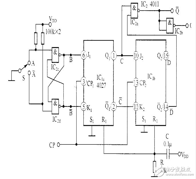 单次脉冲发生器电路图大全(七款单次脉冲发生器电路设计原理图详解)