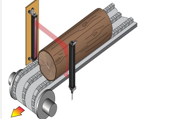 光幕的应用和工作原理_电梯门光幕的工作原理   电梯安全光幕实际应用时不需要控制器,仅需发射器和接收器,使用时通过航空   插头   插座   或者电缆线连
