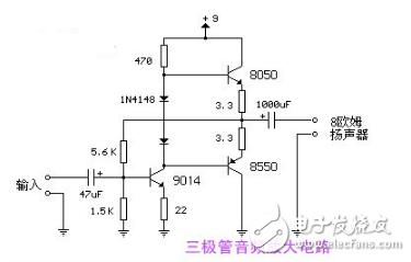 简易音频放大器电路图大全(八款简易音频放大器电路设计原理图详解)