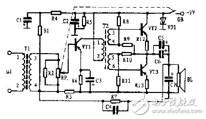 音频信号放大器电路图大全(十款经典的音频信号放大...