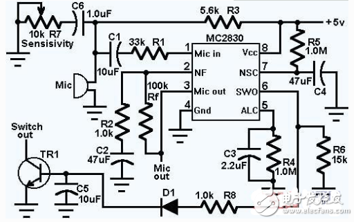 话筒放大器电路图大全(六款话筒放大器电路设计原理图详解)