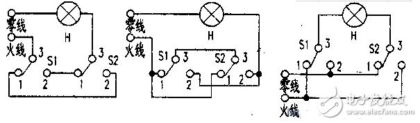 楼梯开关双控电路图大全(七款楼梯开关双控电路设计原理图详解)
