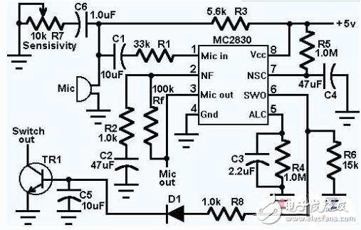 音频前置放大器电路图大全(八款音频前置放大器电路设计原理图详解)