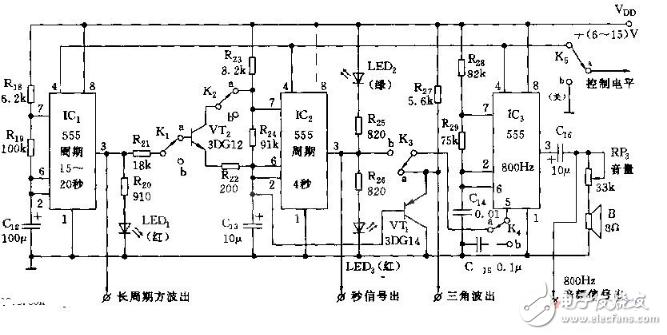 简易信号发生器电路图大全(八款简易信号发生器电路...