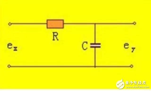 RC无源滤波器电路图片