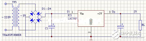 5v稳压电源电路图大全(七款5v稳压电源电路设计...