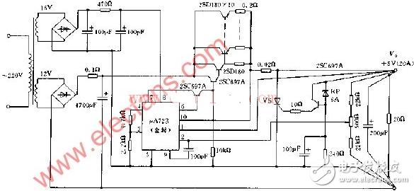 5v稳压电源电路图大全(七款5v稳压电源电路设计原理图详解)