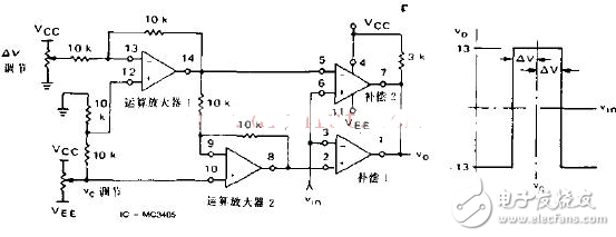典型窗口比较器电路图大全(六款典型窗口比较器电路设计原理图详解)