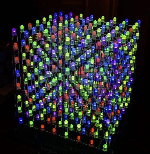 rgb led灯变色原理详解_RGB三基色LED变色程序