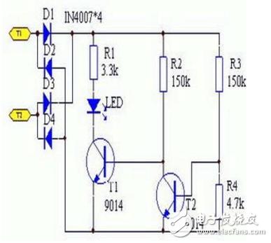 9014三级管开关电路图大全(五款9014三级管开关电路设计原理图详解)