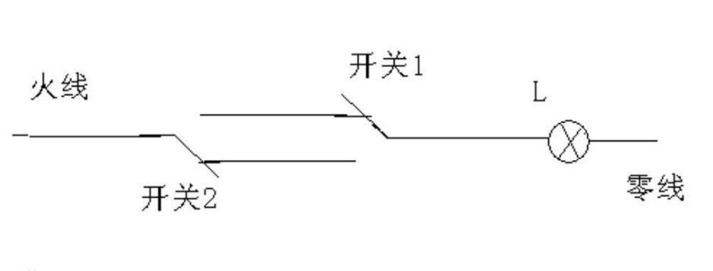 雙聯雙控開關電路的三種接線法介紹