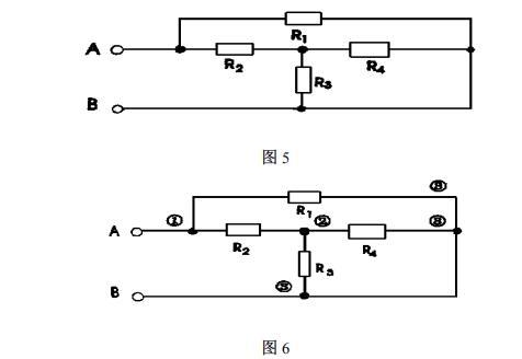 单线串联负触发加电阻接线图