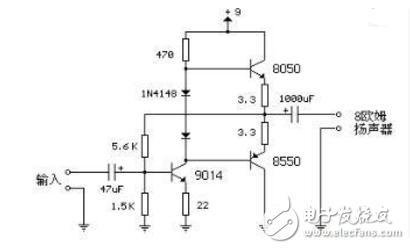 8550三級管開關電路圖大全(四款8550三級管開關電路設計原理圖詳解)
