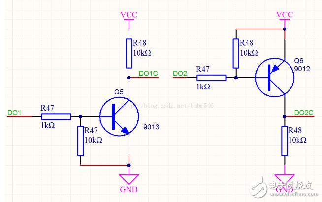 9012三级管开关电路图大全(六款9012三级管开关电路设计原理图详解)