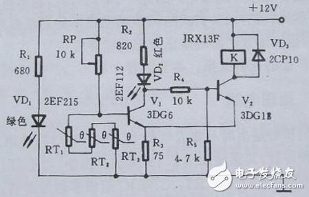 简单的过热保护电路图大全(五款简单的过热保护电路设计原理图详解)