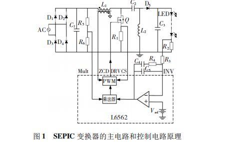 基于SEPIC变换器的高功率因数LED照明电源设...