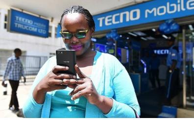 """传音占据非洲独家优势成手机老大 """"华米OV""""存在..."""