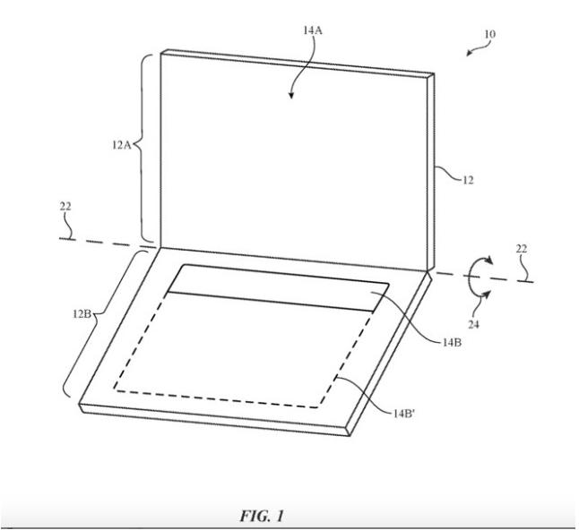 苹果新专利曝光:触控屏幕取代实体键盘指日可待