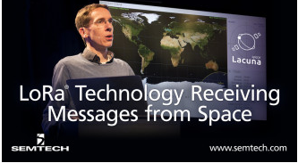 Semtech与Lacuna从太空接收信息