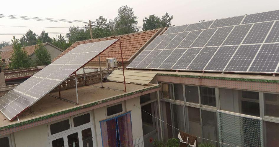屋顶光伏发电有辐射吗_农村屋顶光伏发电利弊分析