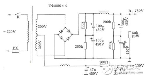 桥式全波整流滤波_二极管桥式整流电路图大全(八款二极管桥式整流电路设计原理 ...