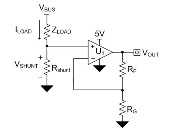 无人机应用中,低侧电流感应电路设计