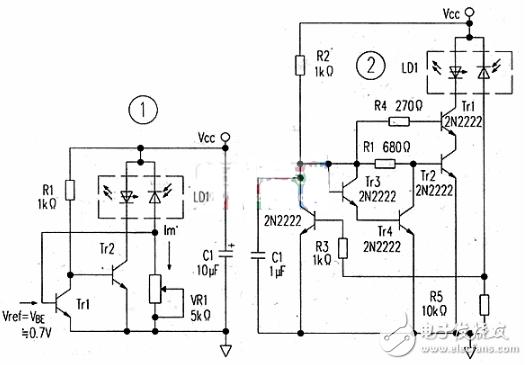 激光二极管驱动电路图大全(六款激光二极管驱动电路设计原理图详解)