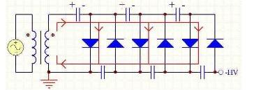 倍压整流电路图大全(九款倍压整流电路设计原理图详解)
