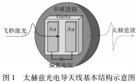 基于金属阵列等离子体共振增强的太赫兹光电导天线设计